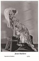 JEAN HARLOW - Film Star Pin Up PHOTO POSTCARD - 6-353 Swiftsure Postcard - Cartes Postales
