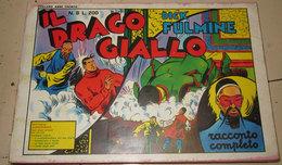 DICK FULMINE N. 8 IL DRAGO GIALLO - Classic (1930-50)