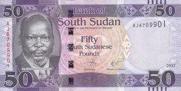 SOUTH SUDAN 50 POUND 2017 P-NEW UNC */* - Soudan Du Sud