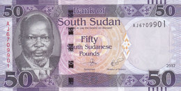 SOUTH SUDAN 50 POUND 2017 P-NEW UNC */* - Zuid-Soedan