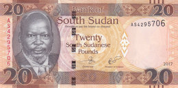 SOUTH SUDAN 20 POUND 2017 P-NEW UNC */* - Soudan Du Sud