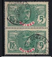GUINEE          N°  YVERT     36  X 2   ( 2 )    OBLITERE       ( O   3/31 ) - Oblitérés