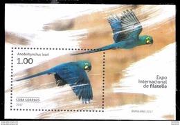 2864  Birds - Parrots - Oiseaux - 2017 - MNH - 1,75 - Parrots