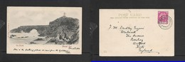 S.Africa,  The Poort, Mossel Bay, Used, 1903 > England - South Africa