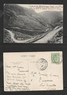 S.Africa,Zwartberg, Prince Albert -Oudtshoorn Rd, Used 1906 LADISMITH CAPE > NEWCASTLE NATAL> - Afrique Du Sud