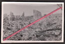 76 LE HAVRE -- Eglise Saint-François_ Quartier St-François_ Destruction _ Bombardement _ Guerre _ Photo Originale - Guerra, Militari