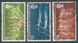1970 GREAT BRITAIN USED COMMONWEALTH GAMES SG 832/4 SET OF 3 - 1952-.... (Elizabeth II)