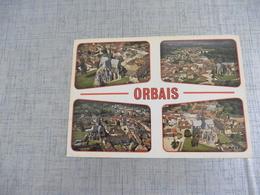 CARTE POSTALE  DE  ORBAIS - France