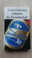 Zündholzschachtel Mit Bier-Werbung (Frankenheim-Alt; Deutschland) - Zündholzschachteln