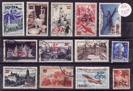 REUNION  Lot Obli  C32 - Réunion (1852-1975)