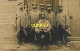 Guerre 14-18, Carte Photo De Poilus Du 136ème , Souvenir De La Guerre 1914 1915 - Guerre 1914-18