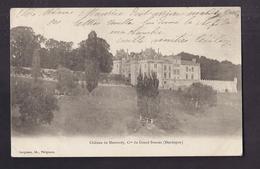 CPA 24 - GRAND BRASSAC - Château De MONTARDY - Commune Du Grand-Brassac - TB PLAN EDIFICE + Jolie Oblitération 1903 - Other Municipalities
