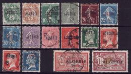 ALGE Lot Surch Obli  C2 - Algérie (1924-1962)