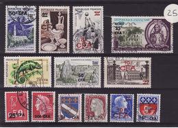 REUNION Lot  Obli  C3 - Réunion (1852-1975)