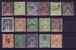 LOT Obli  Cote+47e  C61 - France (ex-colonies & Protectorats)