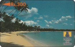 Sri Lanka Phonecard Beach - Sri Lanka (Ceylon)