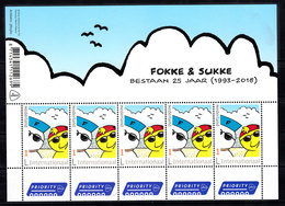 Nederland 2018 Nvph Nr 3644, Mi Nr 3711; Fokke En Sukke , Nieuw Kader Sheet, Internationaal - Period 2013-... (Willem-Alexander)