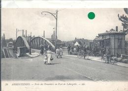 NORD - 59 - ARMENTIERES - Poste Des Douaniers Au Pont De Latargette - Belle Animation Et Douaniers En Action - Dogana