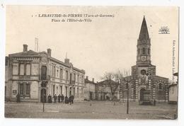 82 Labastide Saint Pierre, Place De L'hotel De Ville (4067) - Labastide Saint Pierre