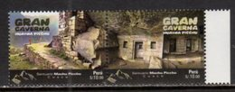 PERU, 2017, MNH, THE GREAT CAVE, HAYNA PICCHU, MOUNTAINS,  2v - Other