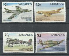 BARBADOS  YVERT  856/59   MNH  ** - Barbados (1966-...)