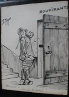 E.TAP (Edmond Tapissier) - Doux Réveil - Dessin Original 24 X 32 Cm. - Dessins