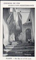 Alger (Algérie) Chemins De Fer PLM  Notice Algérie-Tunisie ..hiver 1906-7 (PPP8968) - Tourism Brochures