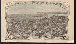 Alger (Algérie) Chemins De Fer PLM  Notice Algérie-Tunisie-Orient  ..hiver 1904-5 (PPP8969) - Tourism Brochures