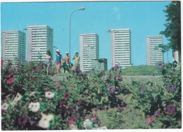 Burgas - Panel Buildings -  (Bulgaria) - Bulgarije