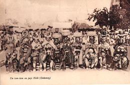DAHOMEY - UN TAM TAM AU PAYS HOLLI - Dahomey