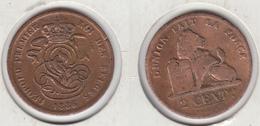 Belgique  2 Cent 1836  2 Centimes  Belgie - 1831-1865: Léopold I