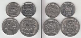 Afrique Du Sud  1 Rand 1995 + 1998 + 2 Rand 1990 + 5 Rand 1994 - Sudáfrica
