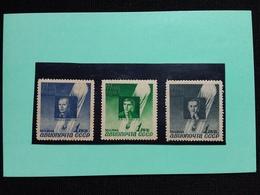 RUSSIA 1944 - Serie Aviatori ** (puntini Di Ruggine) + Spese Postali - 1923-1991 URSS