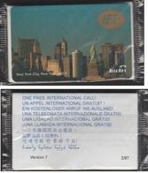 U.S.A TELEKEY NEW YORK 5$ VERSION 7 IEF NEUVE SOUS BLISTER PREPAID PHONECARD - United States