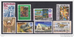 BAHAMAS:  1976/85  COMMEMORATIVI  -  8  VAL. US. -  YV/TELL. 380//571 - Bahamas (1973-...)