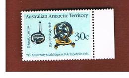 TERRITORI ANTARTICI AUSTRALIANI (AUSTRALIAN ANTARCTIC TERRITORY)  -  SG 61 -  1984 PRISMATIC COMPASS  - (MINT)** - Territorio Antartico Australiano (AAT)