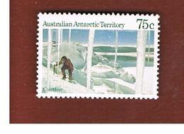 TERRITORI ANTARTICI AUSTRALIANI (AUSTRALIAN ANTARCTIC TERRITORY)  -  SG 74 -  1984 COASTLINE  - (MINT)** - Territorio Antartico Australiano (AAT)