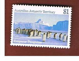 TERRITORI ANTARTICI AUSTRALIANI (AUSTRALIAN ANTARCTIC TERRITORY)  -  SG 77 -  1984 EMPEROR PENGUINS - (MINT)** - Territorio Antartico Australiano (AAT)
