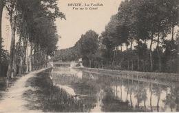 18 / 6 / 458  -   DÉCIZE   ( 58 )   LES  FEUILLATS  -  VUE  SUR  LE CANAL - Decize