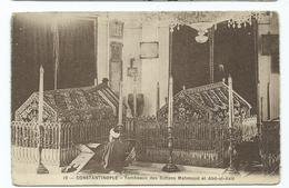 Turkey Constantinople Tombe Des Sultans Mamoud Et Abd-ul-aziz  Unused Publ. Sebah Et Joallier - Turkey