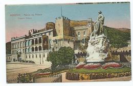 Monaco Palais Du Prince Unused - Monaco