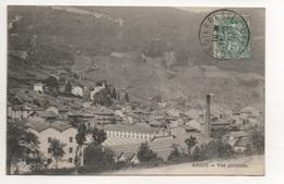 Bes0602 01 Argis Vue Générale Cachet Bourg En Bresse 1907 Sur Type Blanc - France