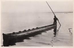 CPA - Corvée D'eau Douce Sur La Lagune - Dahomey