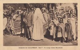 CPA - Un Mariage Chrétien Au Basutoland - Lesotho