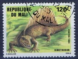 PIA  - 1984 - MALI - Animali Preistorici - Dimetrodon - Mali (1959-...)