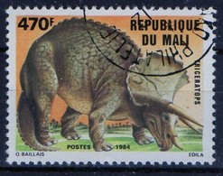 PIA  - 1984 - MALI - Animali Preistorici - Triceratops - Mali (1959-...)