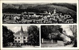 Cp Stepperg Rennertshofen, Teilansichten, Panorama, Schloss, Moysche Brauerei - Germania