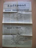 Luftpost Ausgabe Sud Nr.22 24.marz 1945 - Tijdschriften
