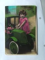 Kinderen Children Enfants Kinder Girl With Car - Kinderen