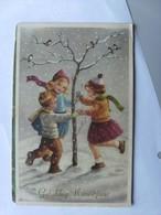 Kinderen Children Enfants Kinder Chldren Dancing In The Snow - Kinderen